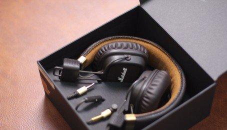 Giảm đến lên đến 38% tai nghe cao cấp Marshall Major 2 Black (Anh)