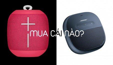 So sánh 2 loa siêu di động Bose Soundlink Micro và UE Wonderboom, nên mua cái nào?