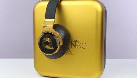 Trên tay chiếc tai nghe hoàn hảo AKG N90Q: Tuyệt tác không thể chối từ