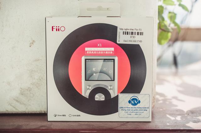 Máy nghe nhạc MP3 Fiio X1