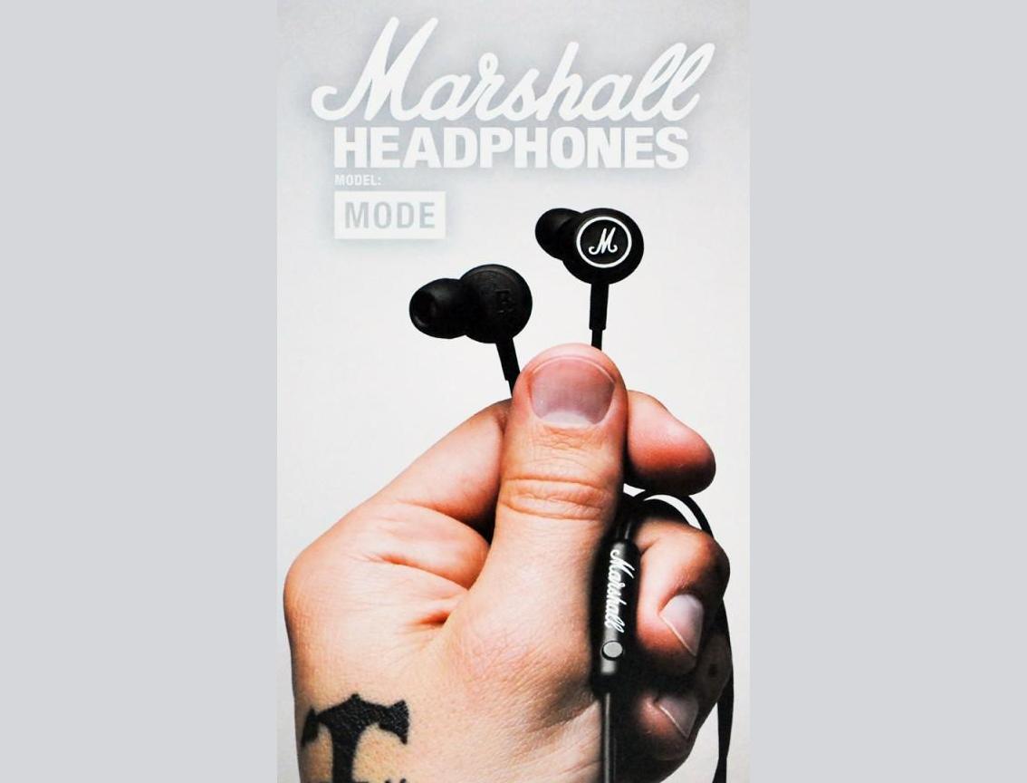 Tai nghe Marshall MODE Black and White